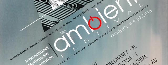 W dniach 8-9 lipca w Gorlicach po raz osiemnasty odbędzie się Ambient Festival – impreza mająca na celu prezentacje szerokiej publiczności najciekawszych wydarzeń na współczesnej scenie ambitnej muzyki elektronicznej. Podczas […]